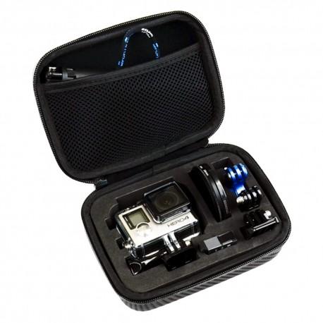 GoPro dėklas kamerai ir GoPro priedams  Carbon | Mažas S