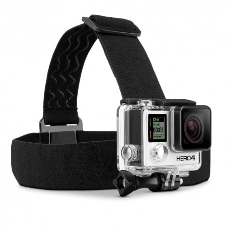 GoPro kameros laikiklis ant galvos