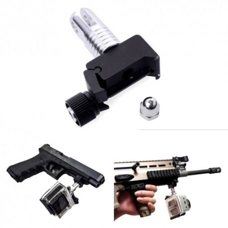 GoPro Andoer 20mm Picatinny Weaver laikiklis ant šautuvo