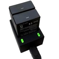 Dvivietis Hero 3 kroviklis | GoPro baterijos įkrovėjas