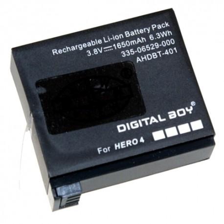 GoPro Hero 4 akumuliatorius 1600 mAh